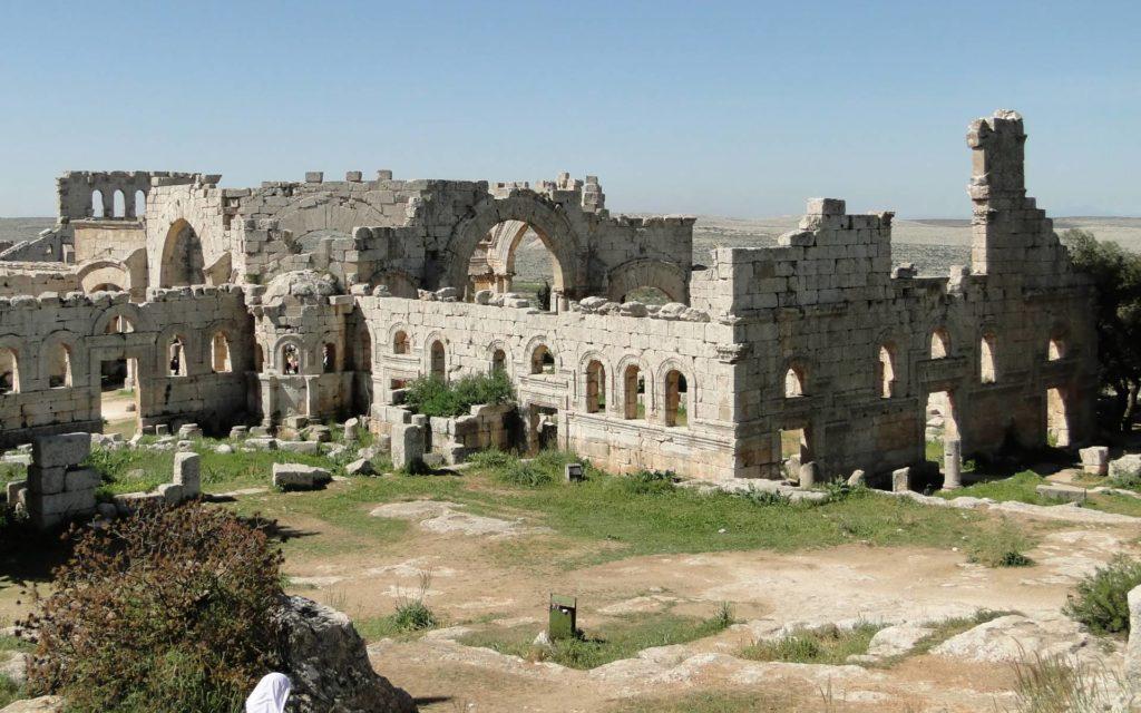 Руины монастыря св. Симона в провинции Хатай