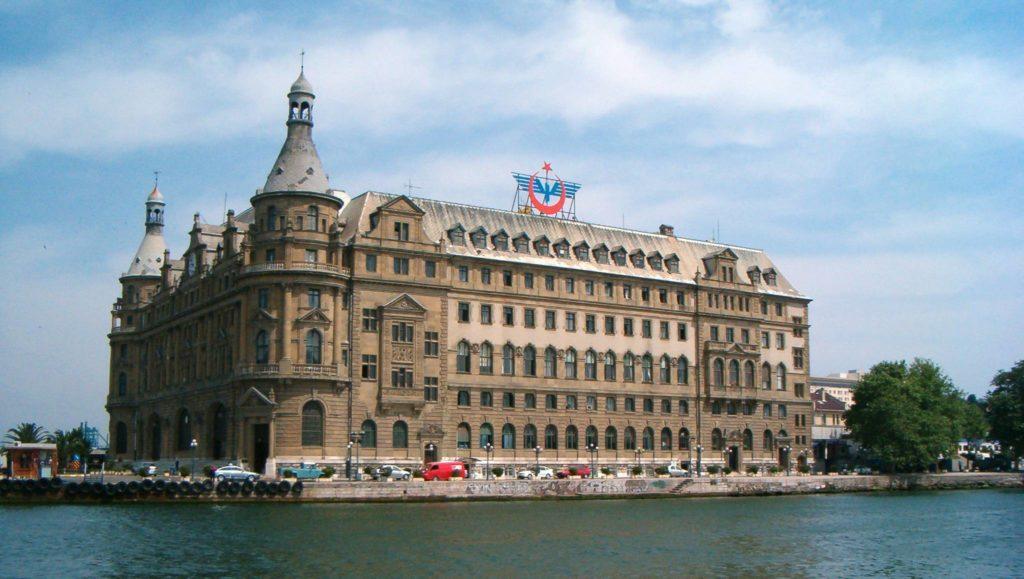 Отправная точка маршрута - вокзал Хайдарпаша на азиатской части Стамбула