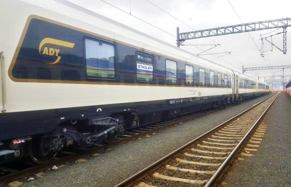 Первый поезд Стамбул – Тбилиси – Баку прибыл из Турции в Грузию