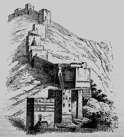 Стены Антиохии во времена Крестовых походов