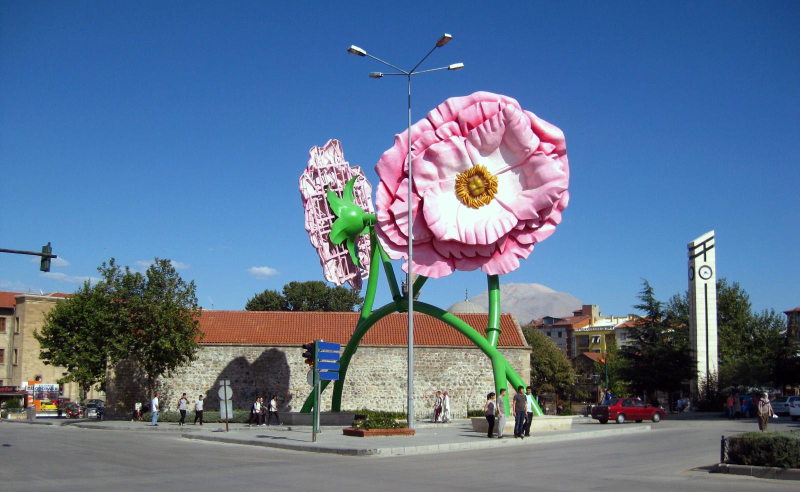Испарта (Ыспарта) - лавандово-розовый рай на карте Турции