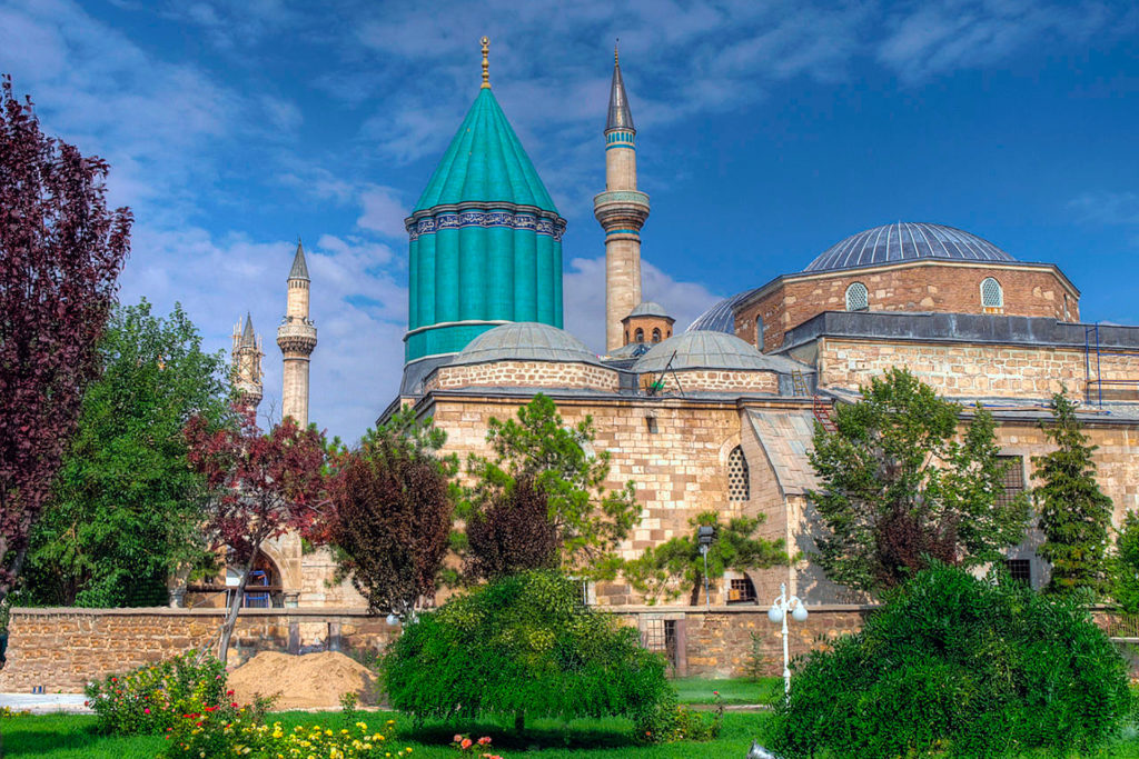 Достопримечательности города Конья, первой столицы Турции