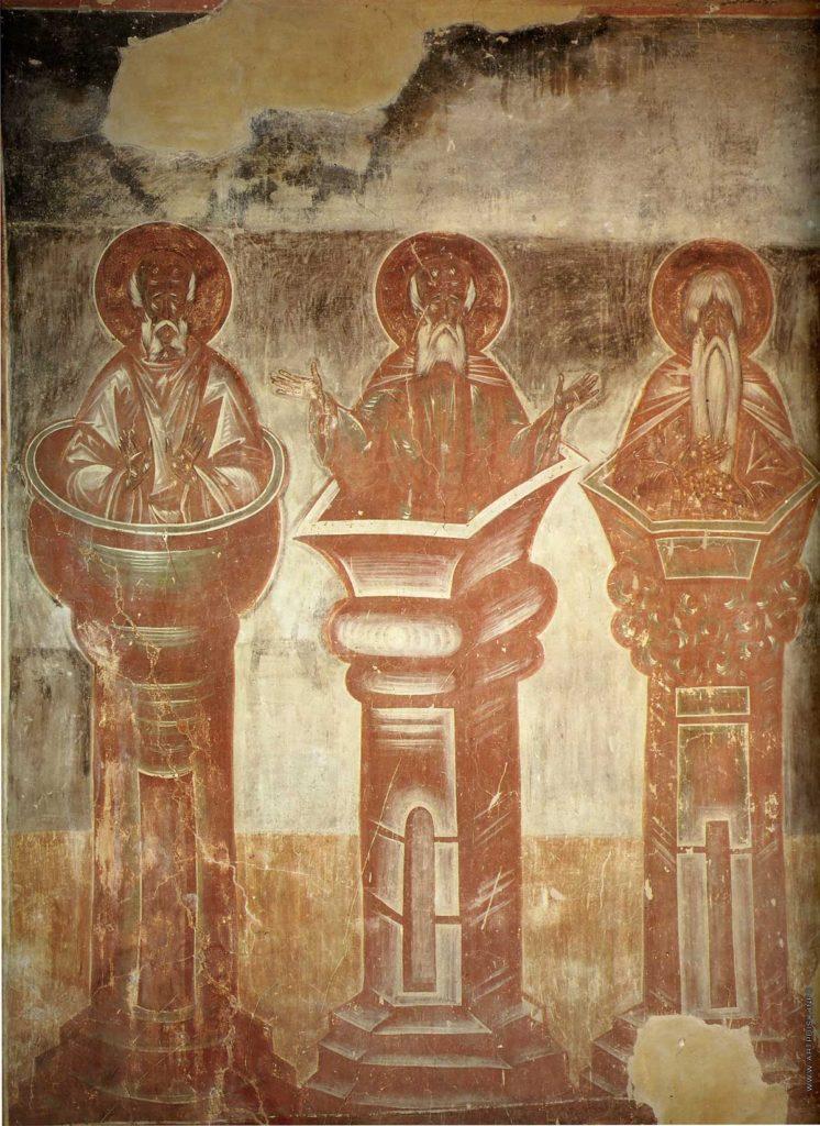 Столпники Симеон старший, Симеон младший Дивногорец и Алипий