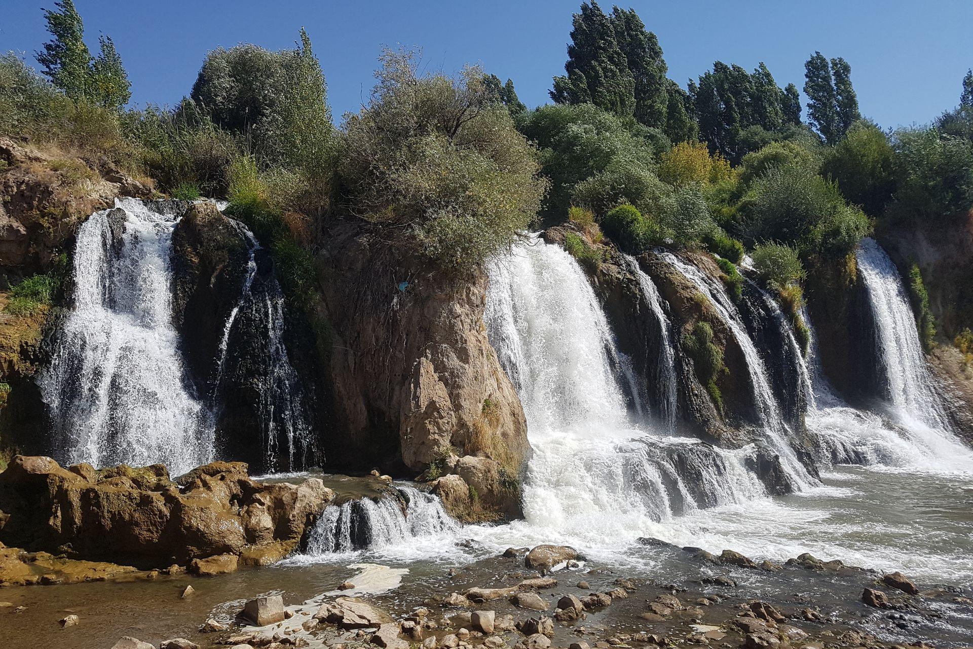 Водопады Мурадие