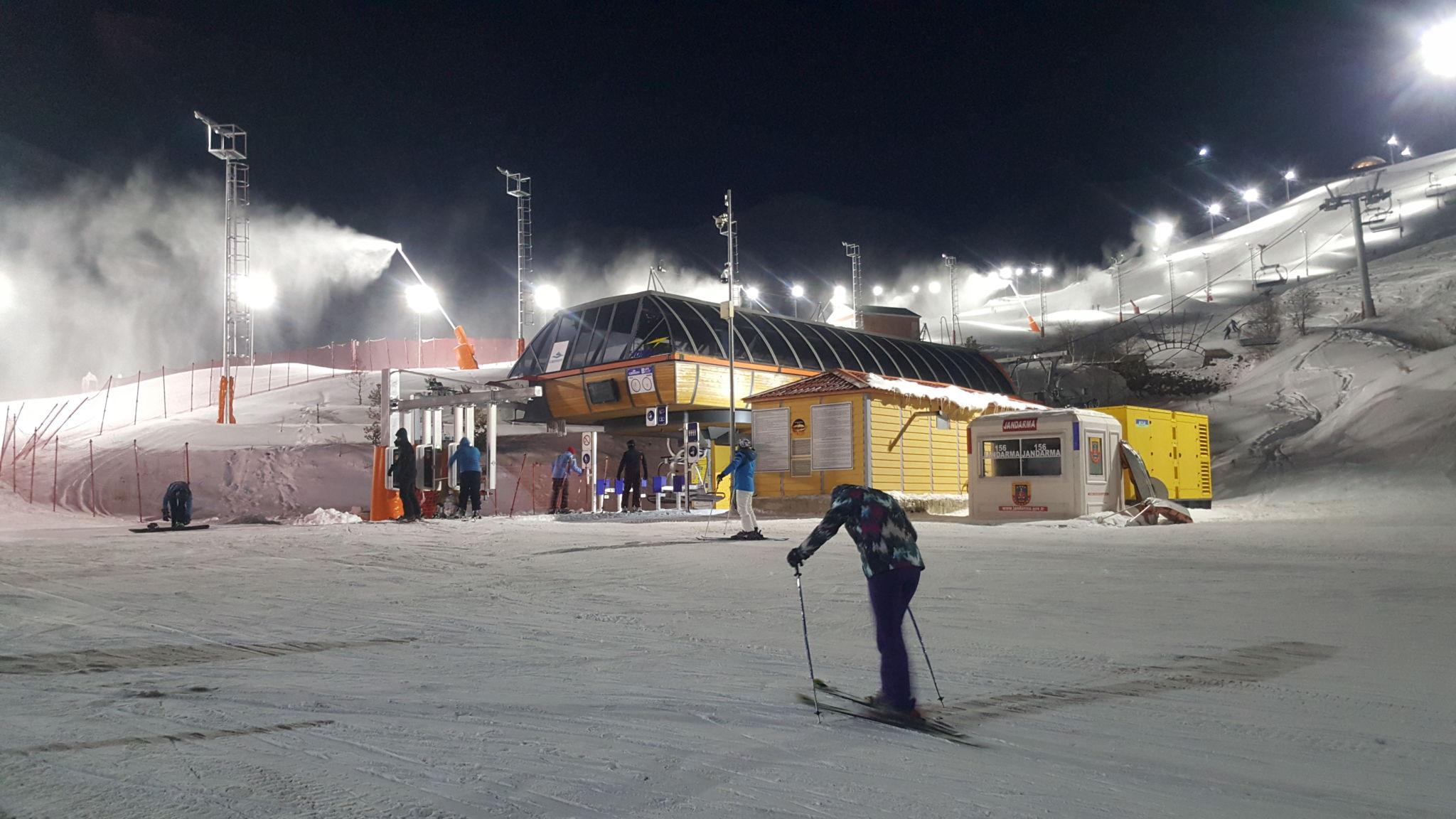 Горнолыжный курорт Паландокен - прекрасное место для того, чтобы встретить Новый год 2020 в Турции