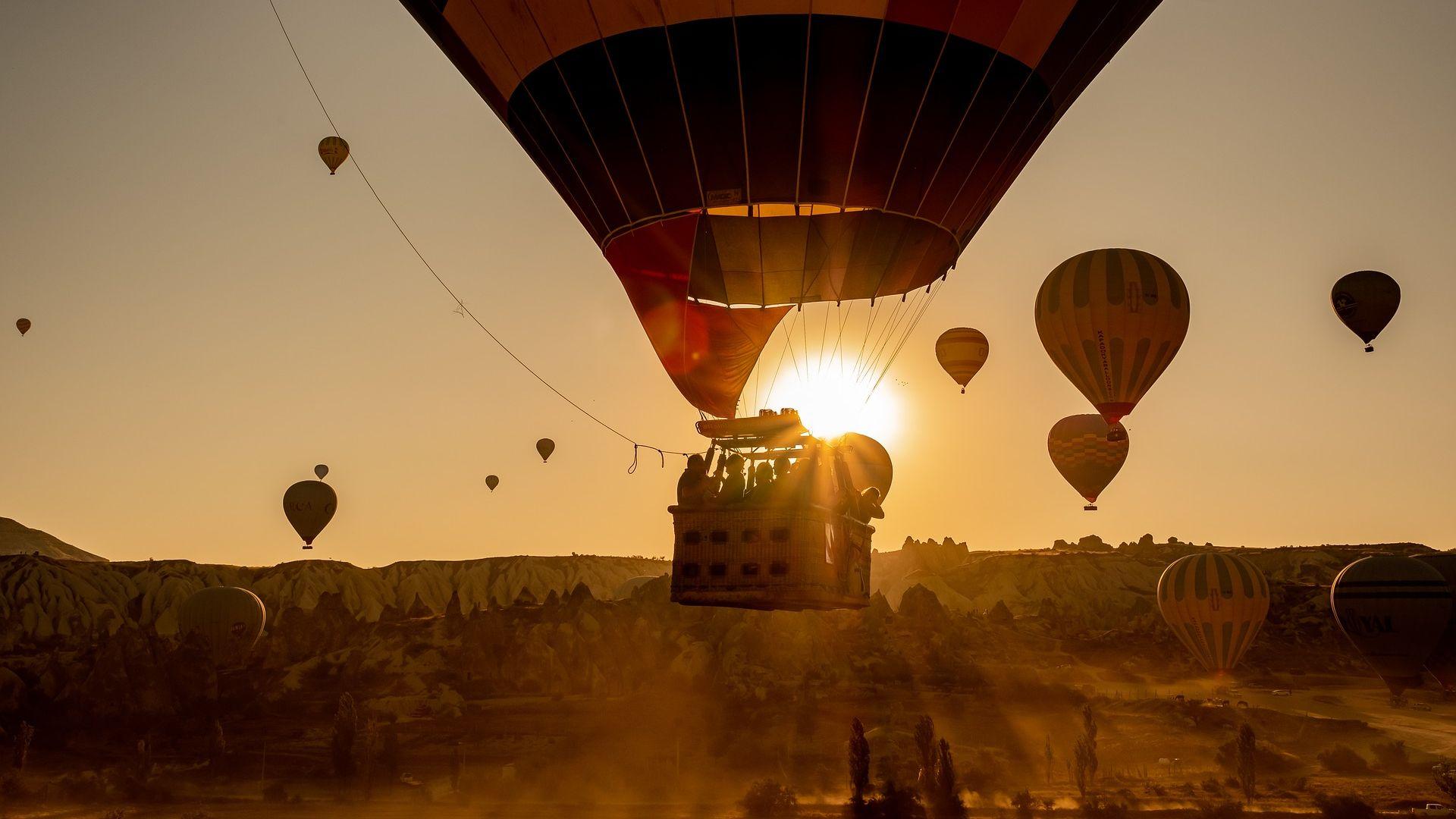 Воздушные шары в Каппадокии