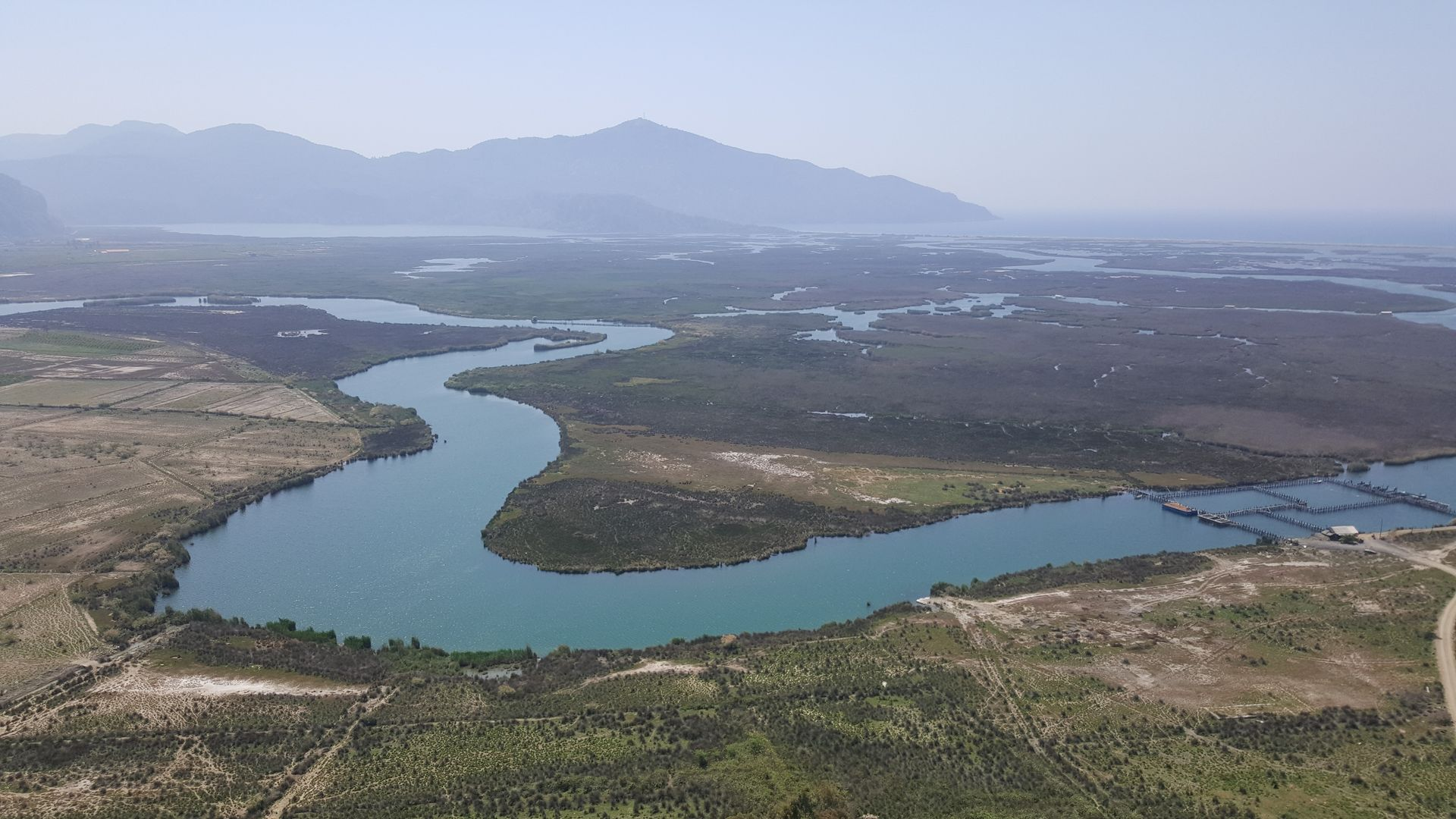 Дельта реки Дальян