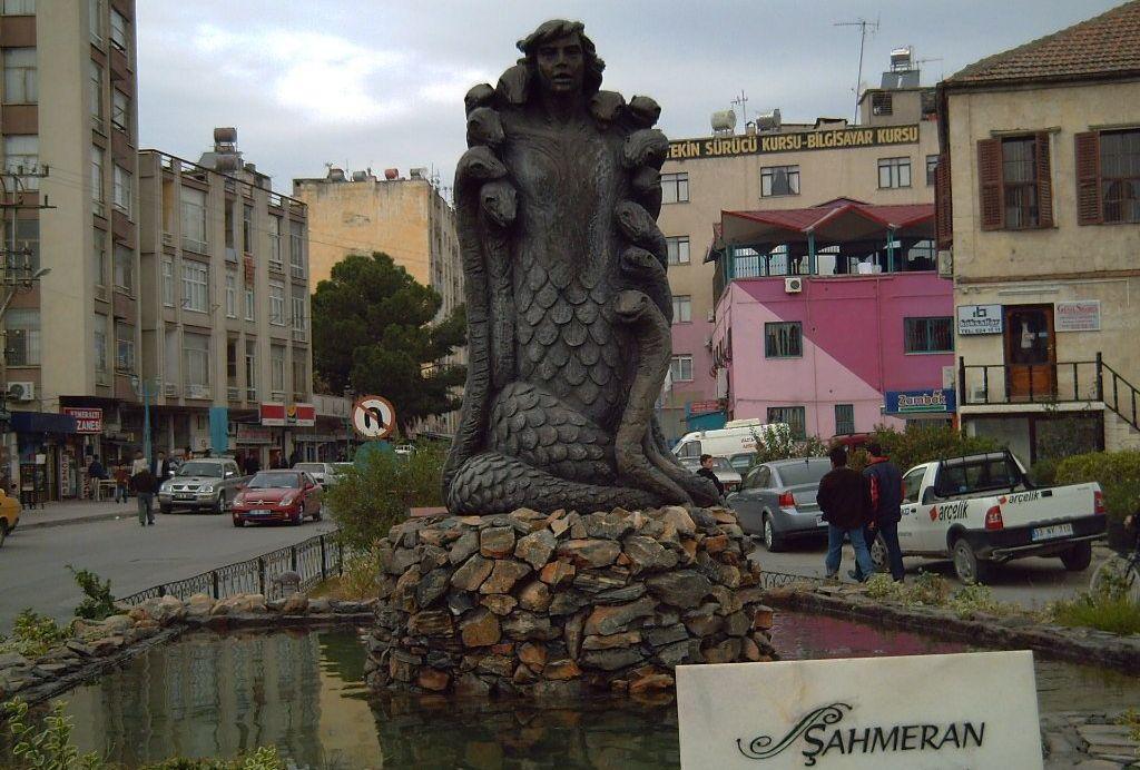 Статуя Шахмеран (Шахмаран)