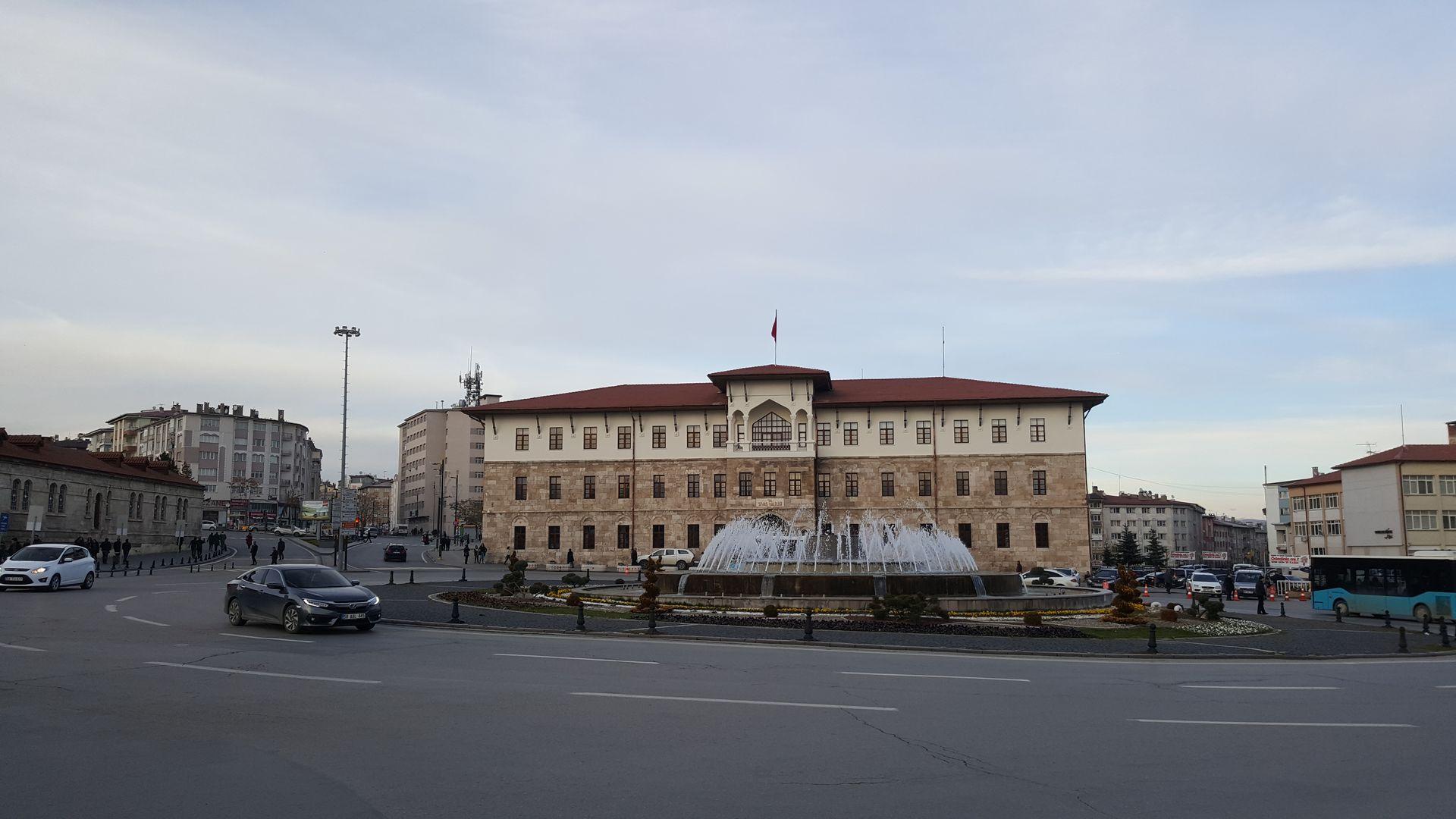 Здание музея Сивасского конгресса