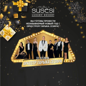 Новый год с оркестром Тарика Сезара в отеле Susesi Luxury Resort