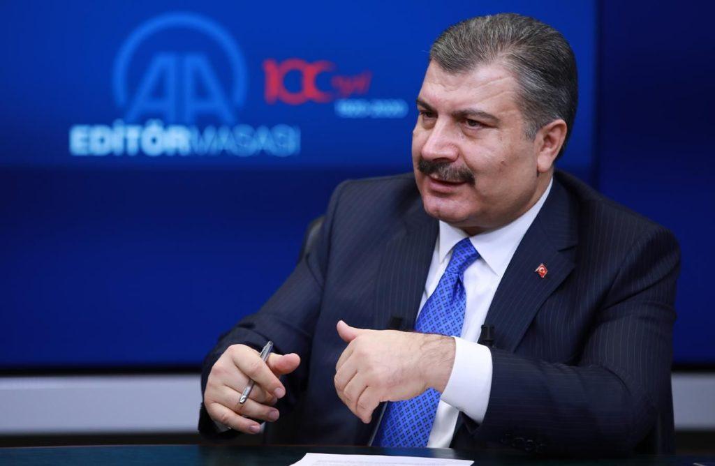 Министр здравоохранения Турецкой Республики Фахреттин Коджа