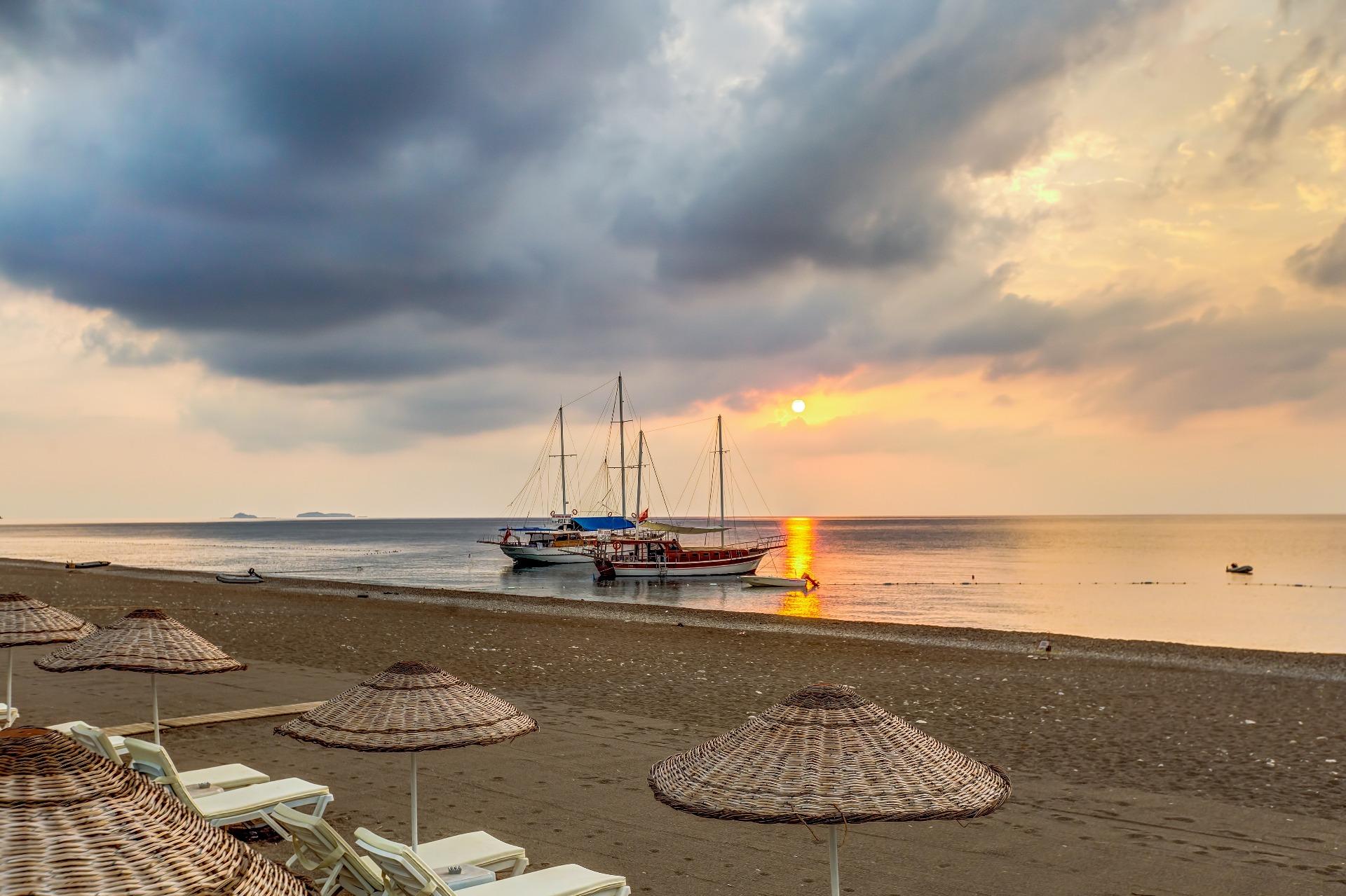 Чиралы - заповедный уголок для тихого отдыха на море в Турции