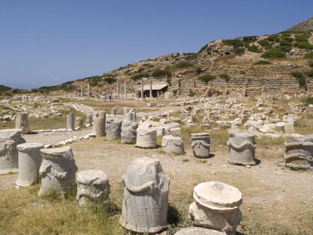 Руины античного города Книд (Книдос)