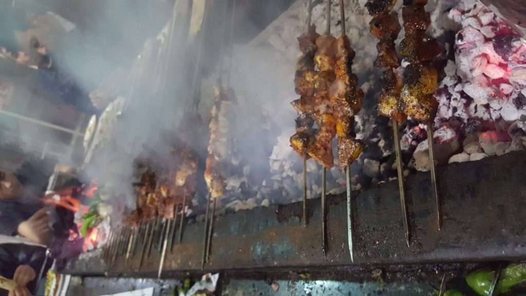 🔥 Ciğer kebab («Джи'ар кебаб», Газиантеп и Диярбакыр)