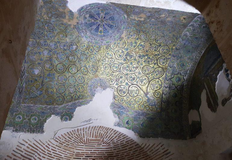 Византийская мозаика в монастыре Мор-Габриэль в провинции Мардин