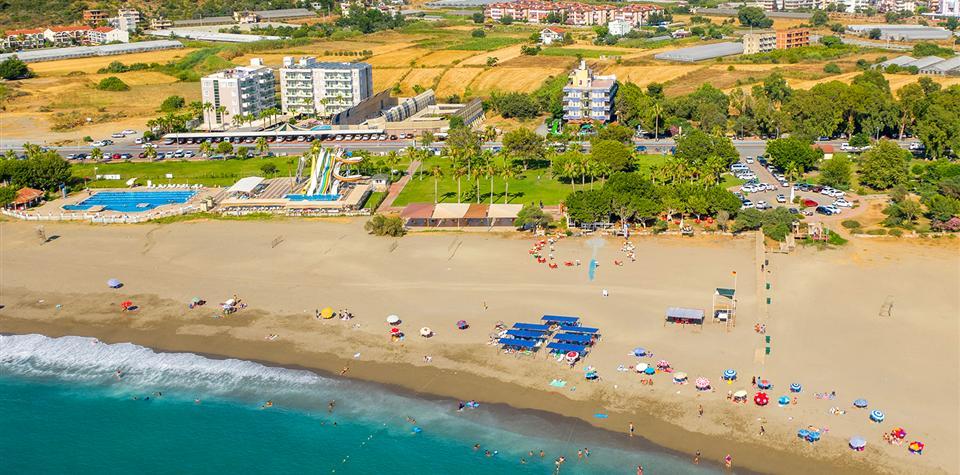 Пляж Силенус в Газипаше